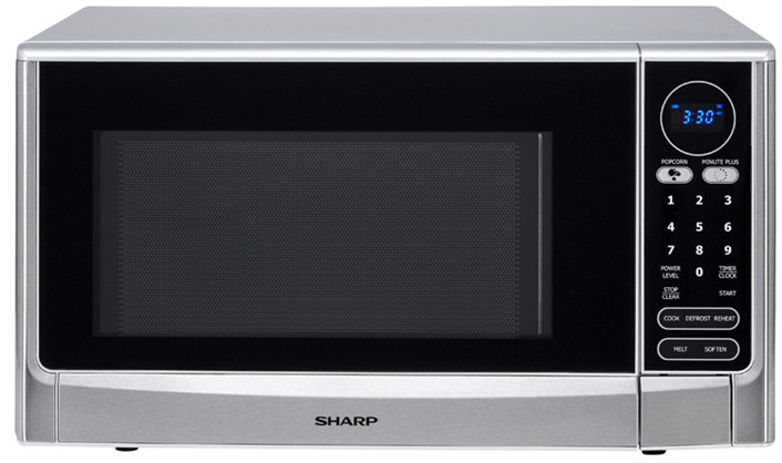 Sharp R403tsc 1 4 Cu Ft Countertop Microwave Oven With