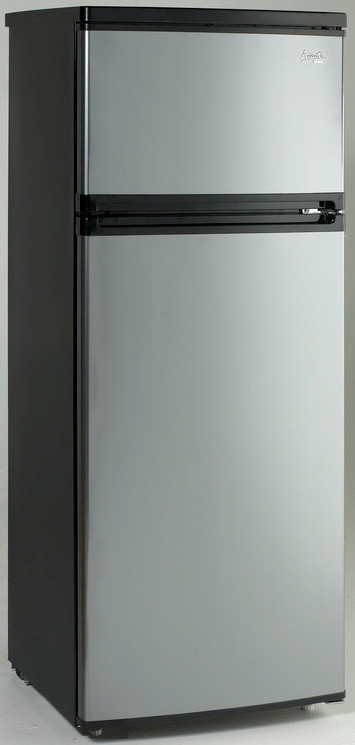 Avanti RA7316PST 7.4 cu. ft. Counter-Depth Top-Freezer Refrigerator ...