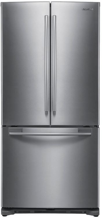 Samsung Rf217abpn 20 Cu Ft French Door Refrigerator With