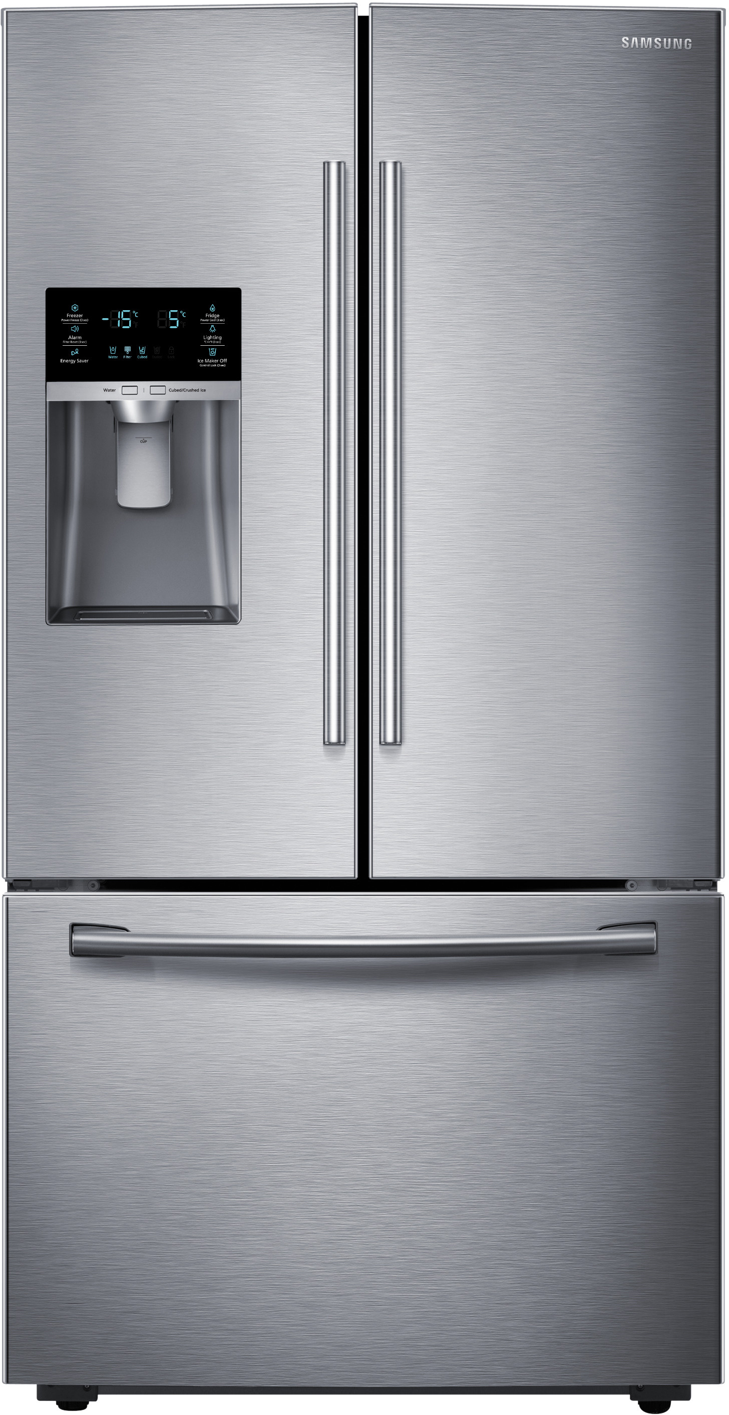 Samsung Rf28hfedbsr 36 Inch French Door Refrigerator With Coolselect