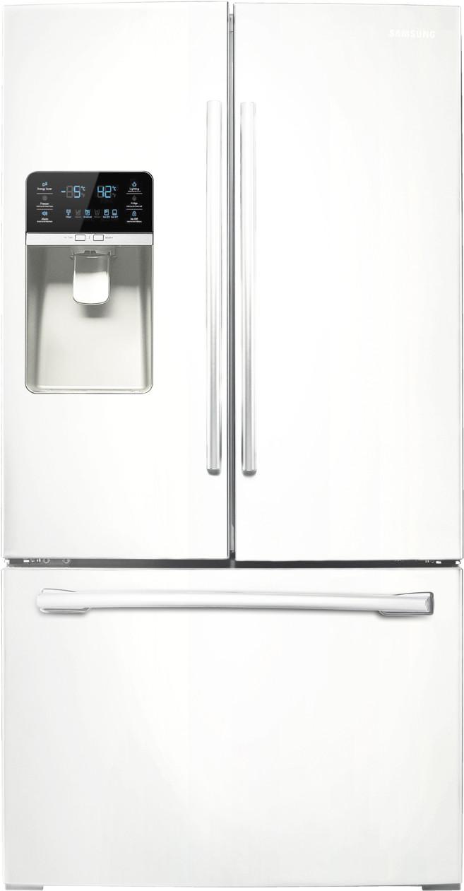 Samsung Rf323tedbww 36 Inch French Door Refrigerator With 305 Cu