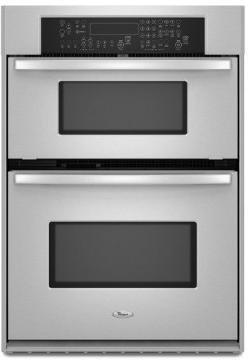 Whirlpool Rmc275pvs 27 Inch Built In Microwave Combination