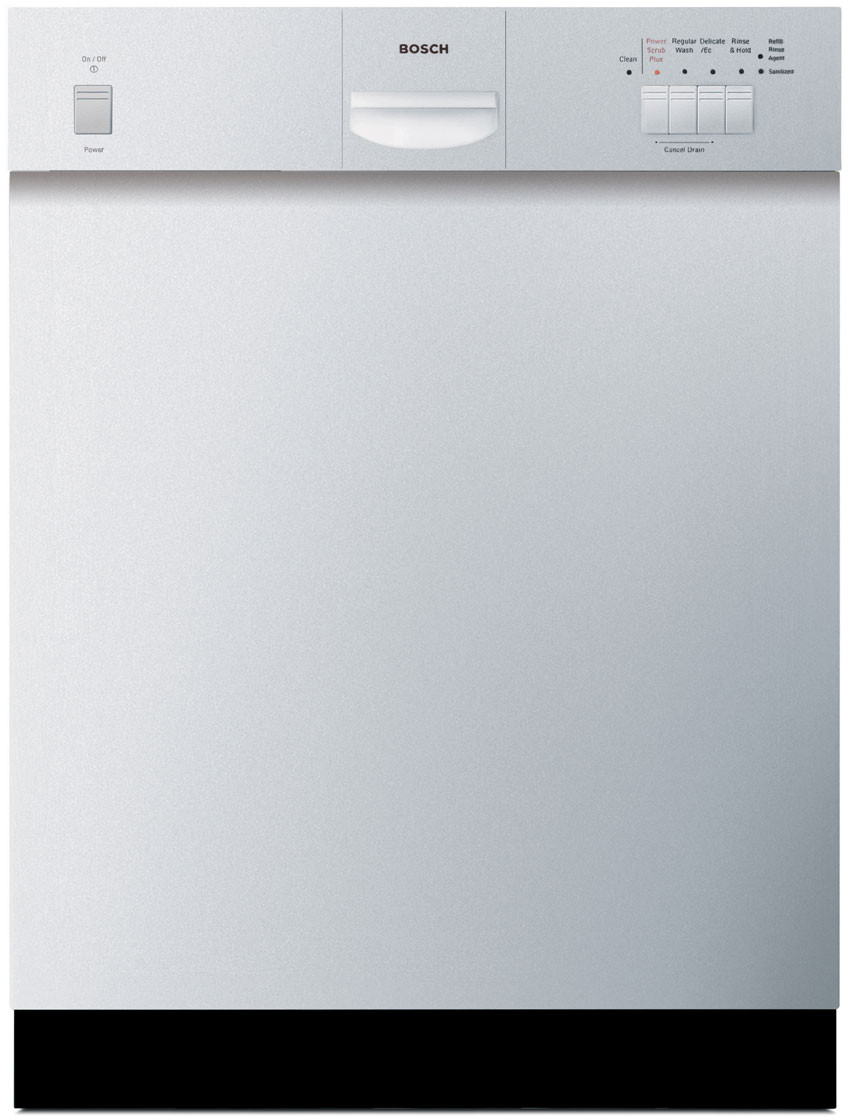 Bosch SHE43C02UC Full Console Dishwasher with 4 Wash Cycles