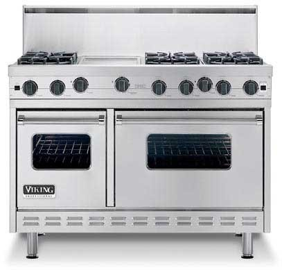 Viking Vgrc4854gd 48 Inch Pro Style Commercial Depth Gas
