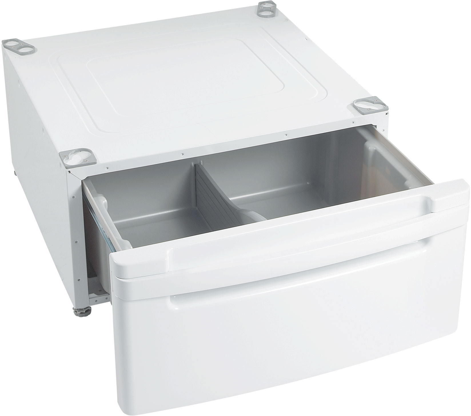Lg Wdp3w 14 Inch Tall Pedestal With Drawer White