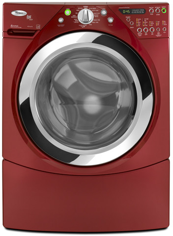 Whirlpool Wfw9750wr 27 Inch Front Load Steam Washer With 3