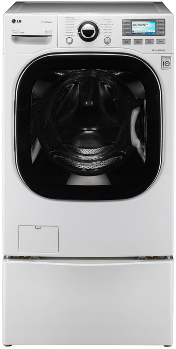 Lg Wm3885hwca 27 Inch Front Load Steam Washer With 4 2 Cu