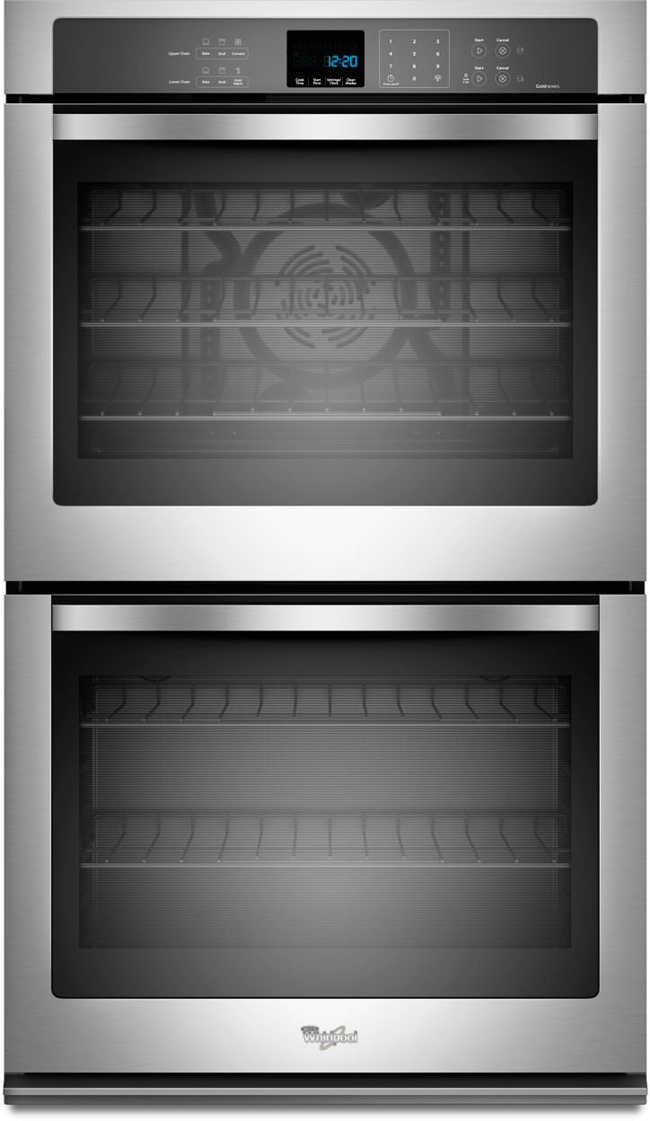 Whirlpool white ice double wall oven - Whirlpool White Ice Double Wall Oven 25