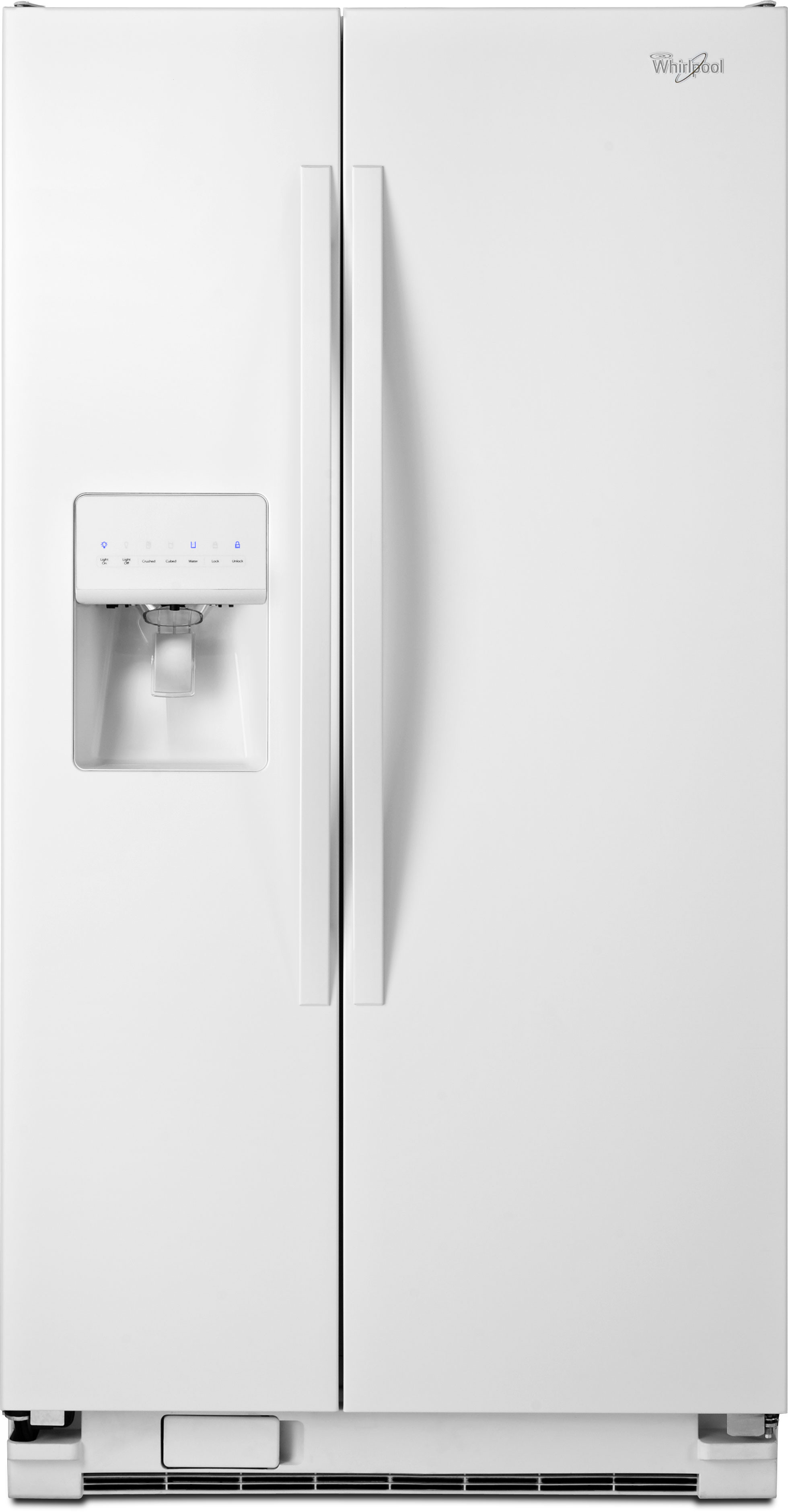 Ge 30 inch side by side white refrigerator - Ge 30 Inch Side By Side White Refrigerator 4