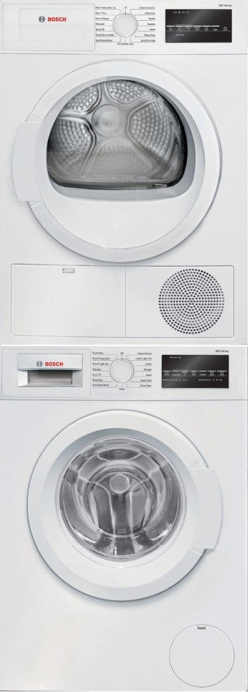 Bosch Bowadrew4 Stacking Kit With Pull Out Tray Washer
