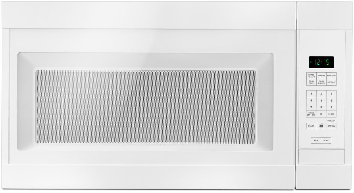 Range Microwave With Auto Defrost