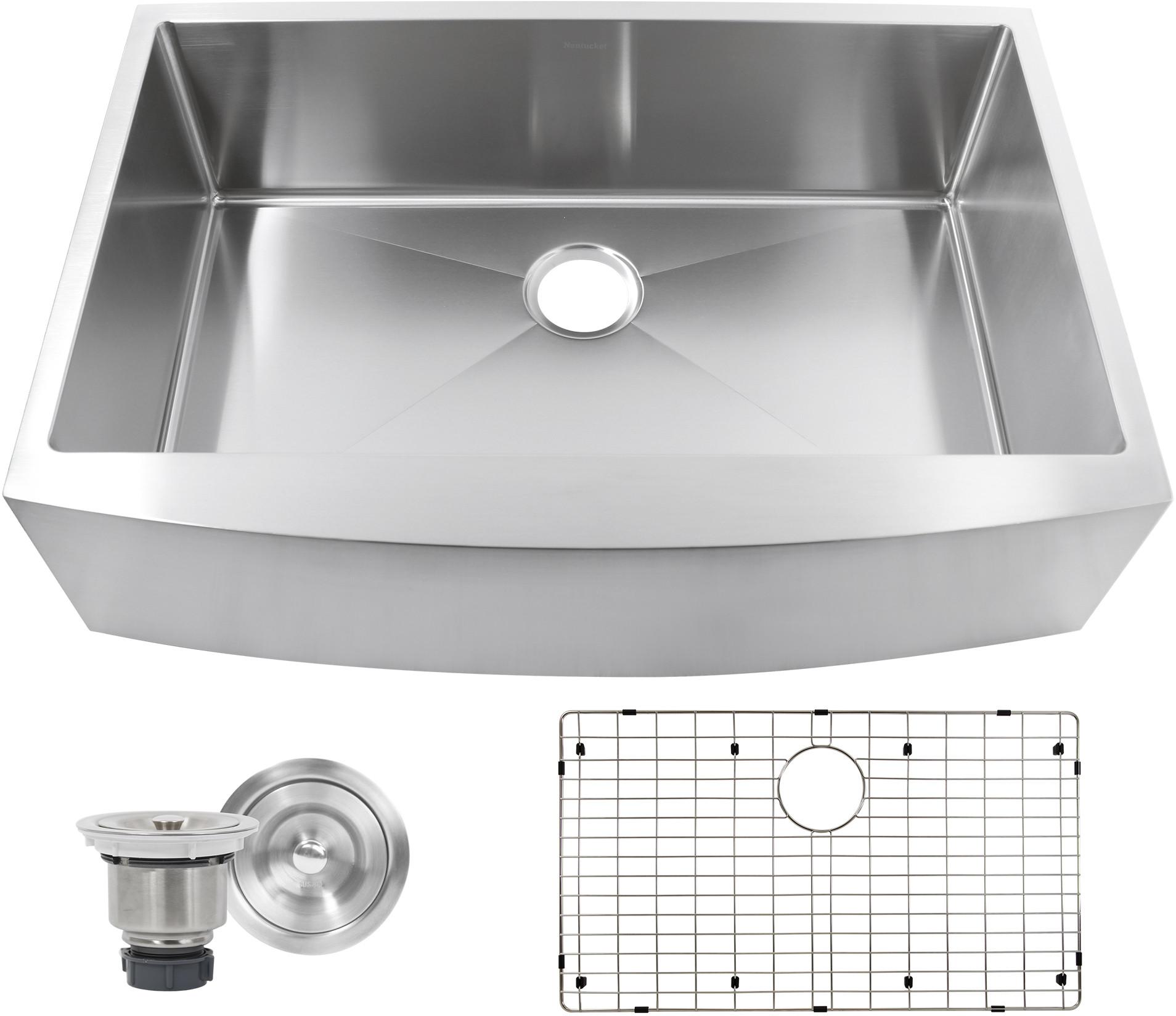 Nantucket Sinks Pro Series APRON332210SR16
