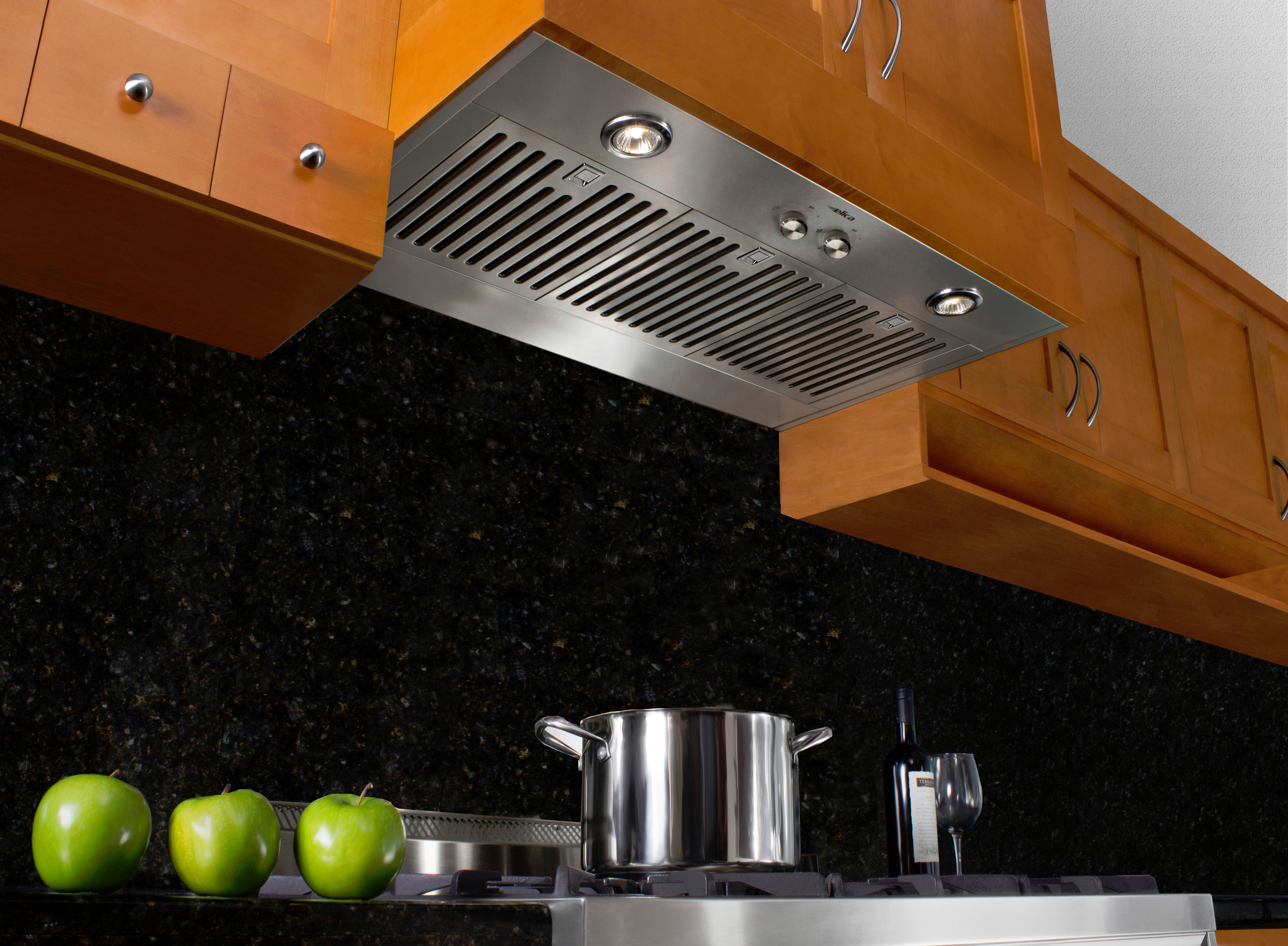 design pattern dining brown wood for range kitchen cabinet steel light decoration your with insert awesome backsplash tile hood stainless