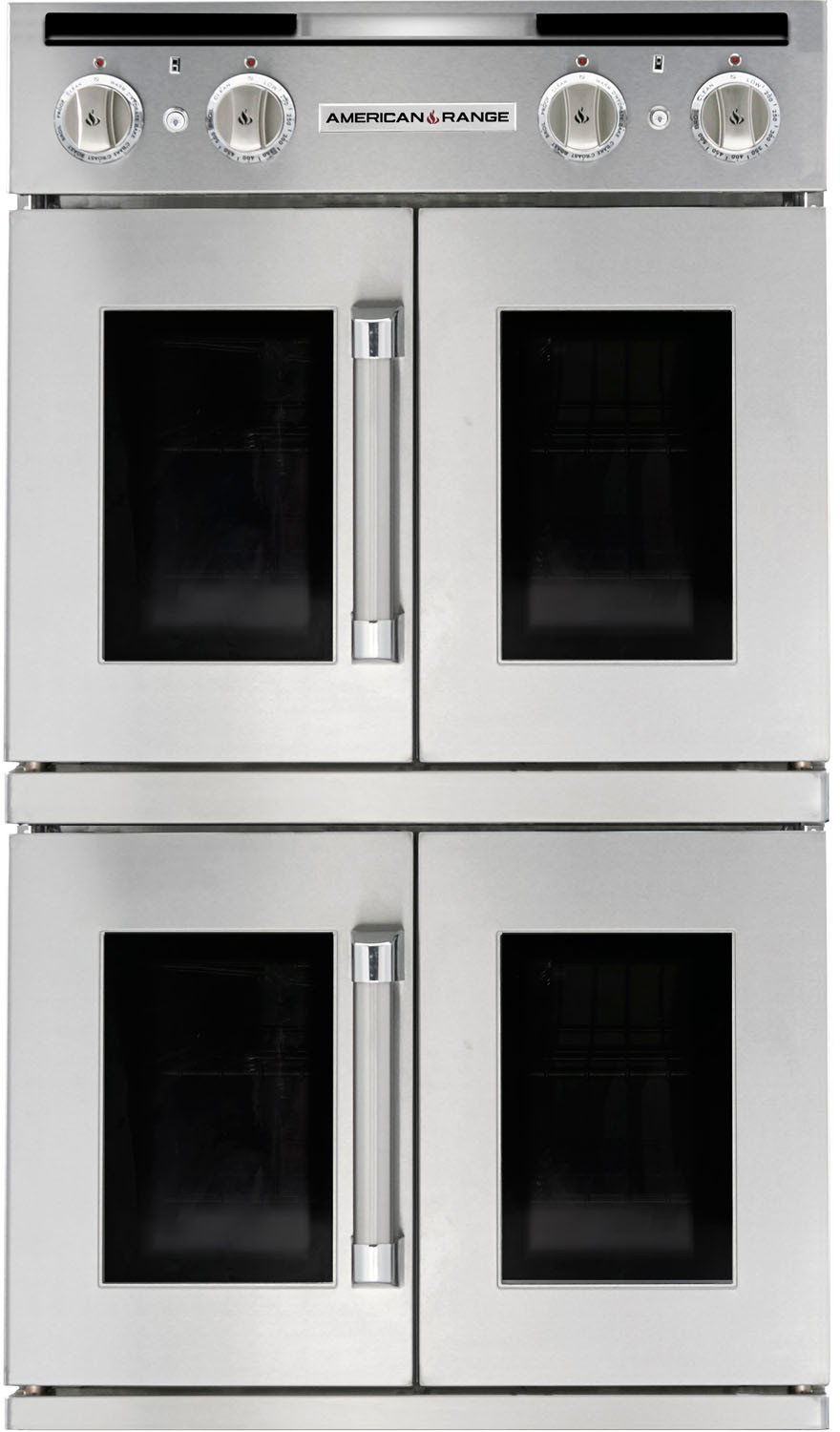 "Image of American Range Legacy 30"" Double Dual Fuel Wall Oven AROSSHGE230L"