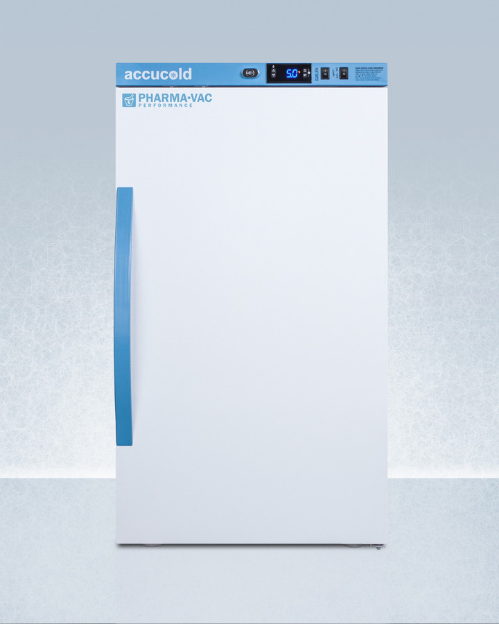 AccuCold 19 Inch 3 Cu. Ft. Compact All-Refrigerator White ARS3PV
