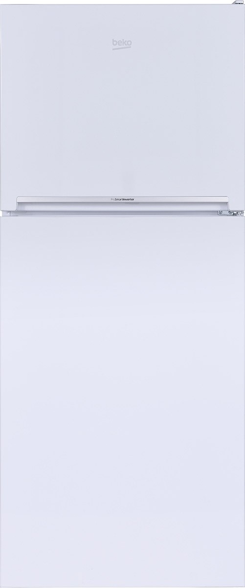 Image of Beko 28 Inch 13.53 Cu. Ft. Counter Depth Top Freezer Refrigerator BFTF2716WHIM