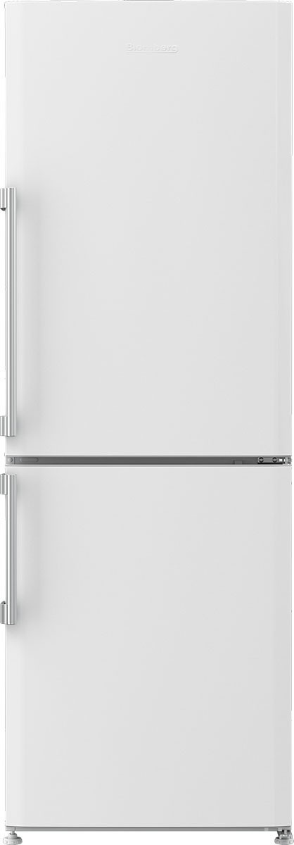 Blomberg 24 Inch Freestanding Counter Depth Bottom Freezer Refrigerator