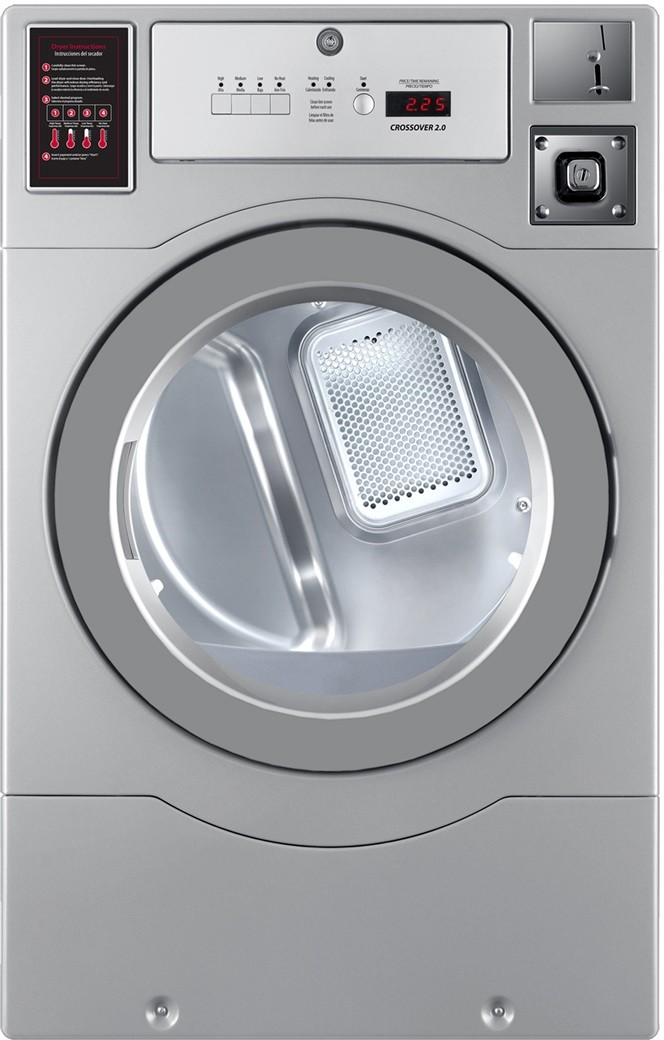 Crossover Dlhf0817e 27 Inch Commercial Electric Dryer With
