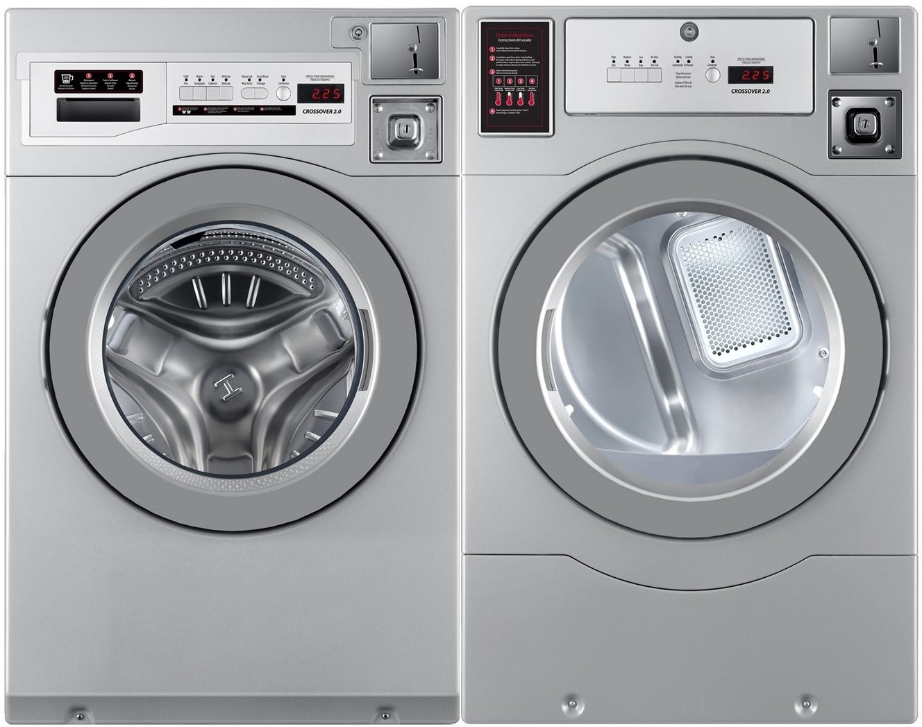 Crossover Crossover 2 0 Side-by-Side Washer & Dryer Set