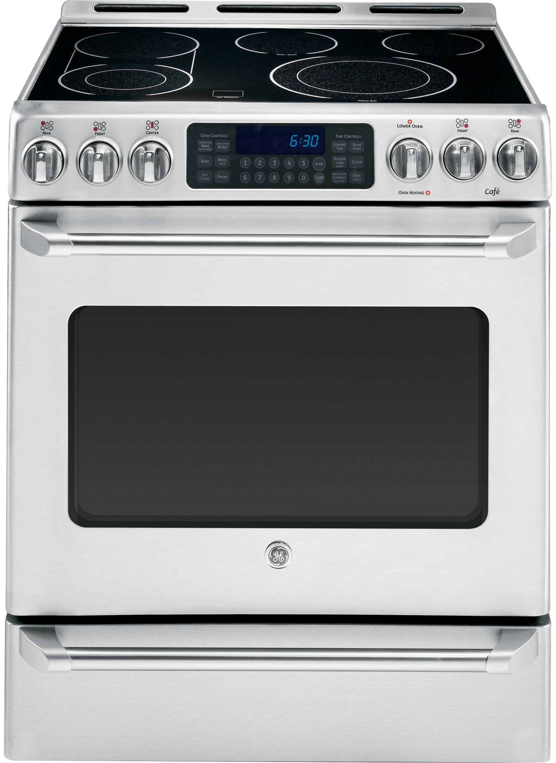 Ge Cafe Series Cs980stss 30 Inch Slide In Electric Range
