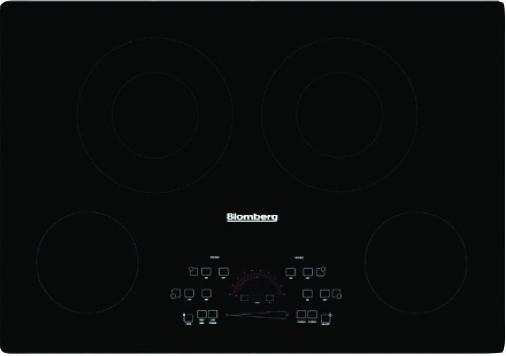 "Image of Blomberg 30"" Electric Drop-In Cooktop CTE30410"