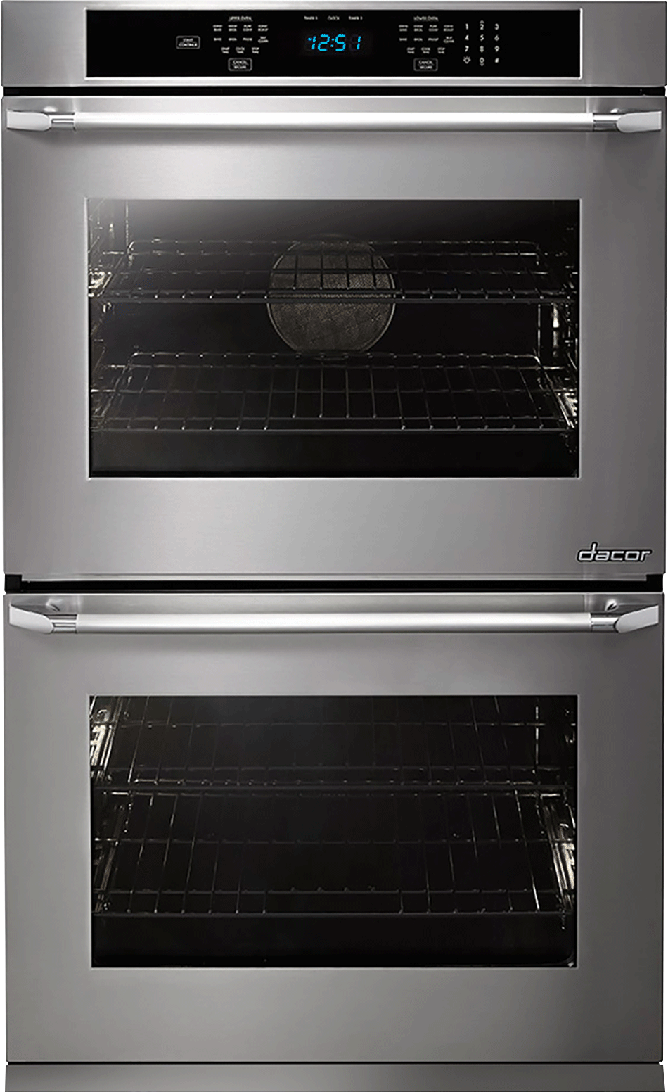 Dacor Dto227s208v 27 Inch Double Electric Wall Oven With 45 Cu Ft Wiring Diagram Convection Ovens 6 Cooking Modes Steam Self Clean Hidden Bake Element