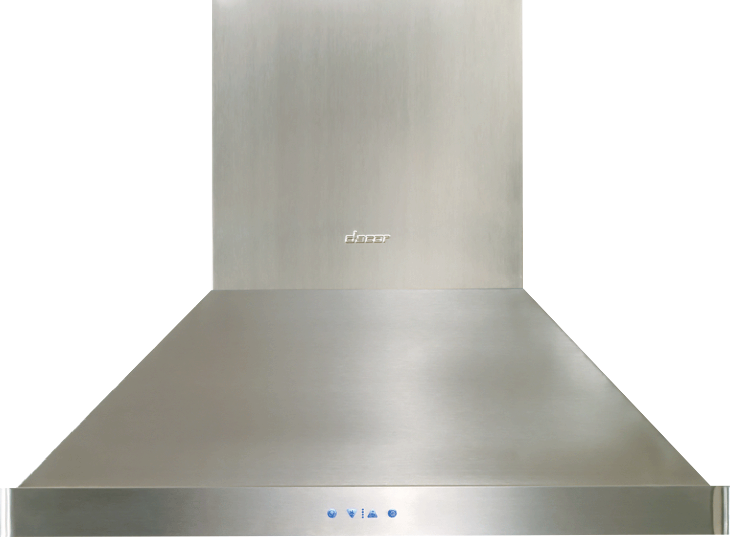Dacor Dhi421 42 Inch Island Mount Range Hood With 1200 Cfm Internal Er Halogen Lighting And Variable Sd Controls