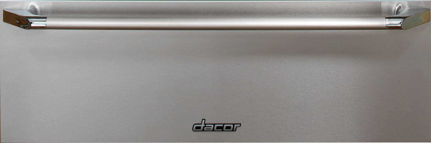 pdp zoom stainless pacific drawer sales front warming steel sd drawers heritage at dacor