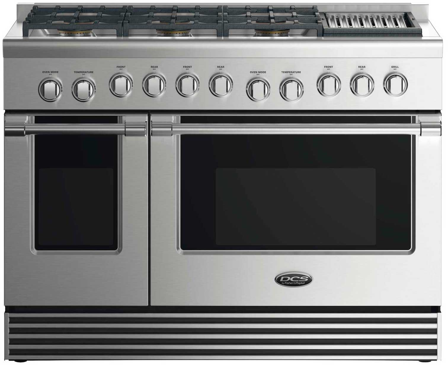 Dcs Rdv2486gll 48 Inch Dual Fuel Range With 6 Sealed Gas Burners