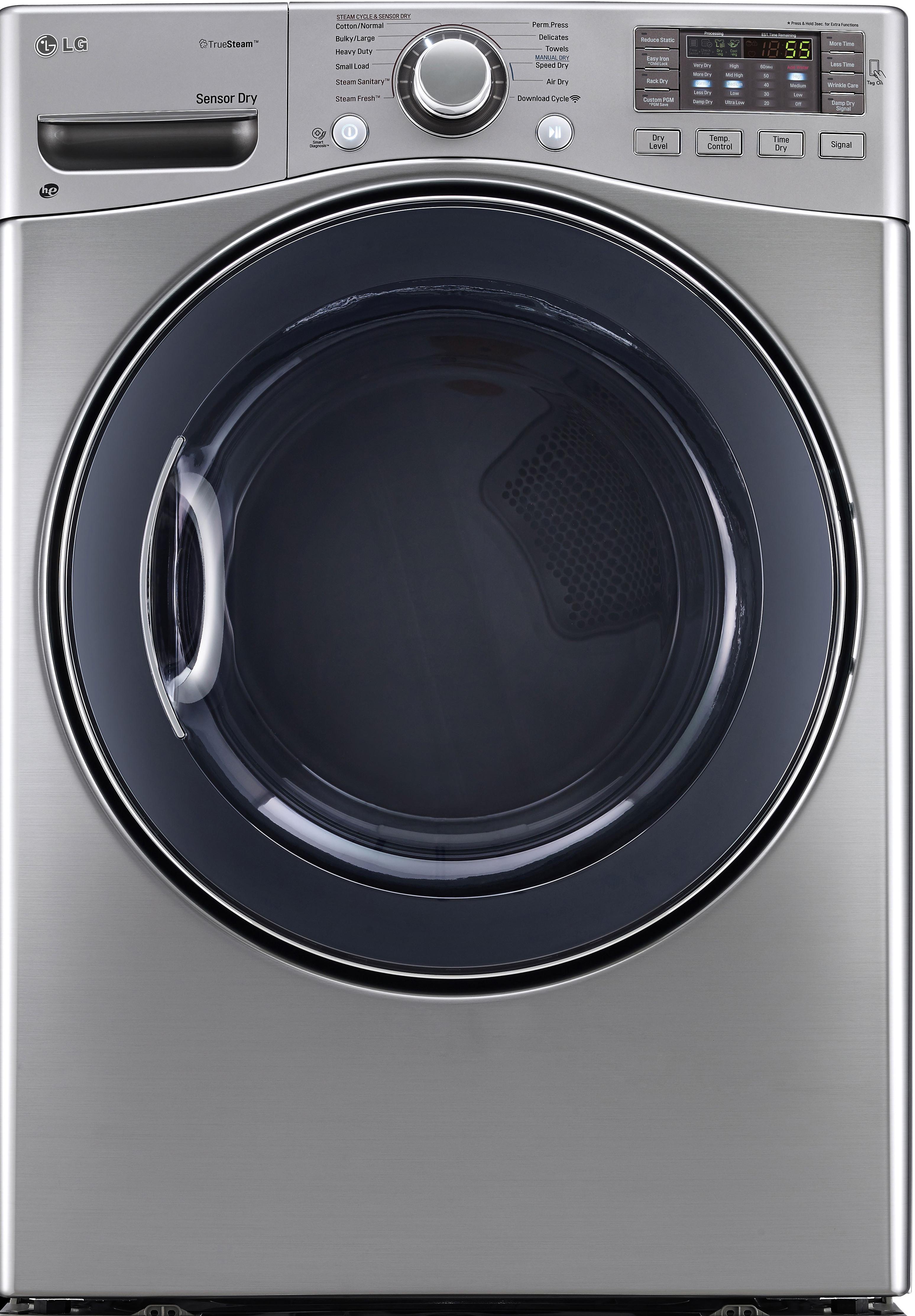LG SteamDryer Series DLEX3570V