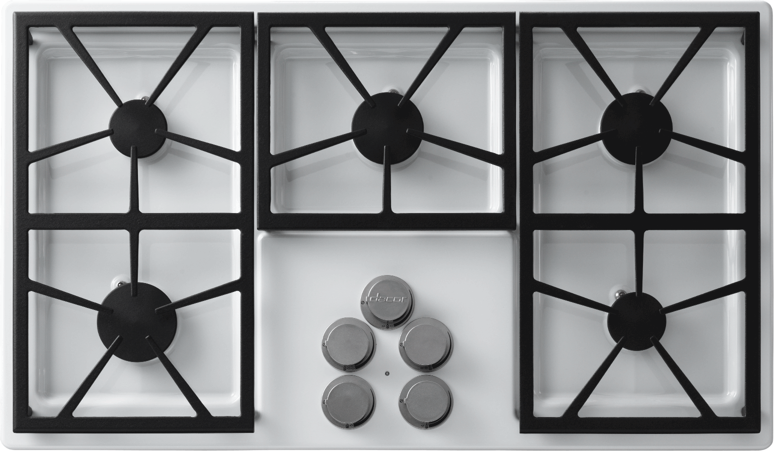 Dacor DTCT365GWNG 36 Inch Gas Cooktop with 5 Sealed Burners ... on