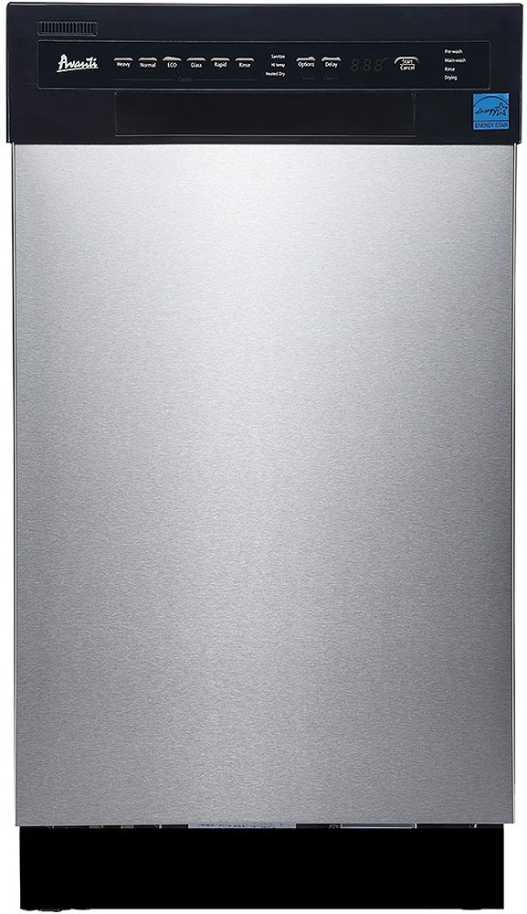 Avanti Dw1833d3se 18 Inch Full Console Dishwasher With 6 Automatic