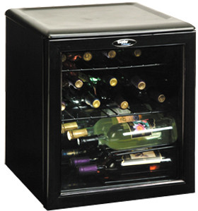 Danby Dwc172bl 18 Inch Wine Cooler With 17 Bottle Capacity