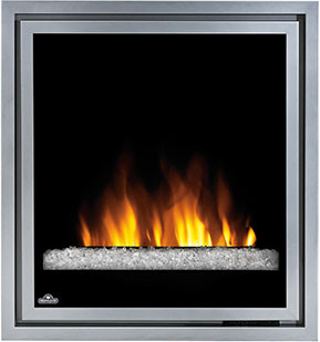 Napoleon ef30g 30 inch indoor electric fireplace with - Going to bed with embers in fireplace ...
