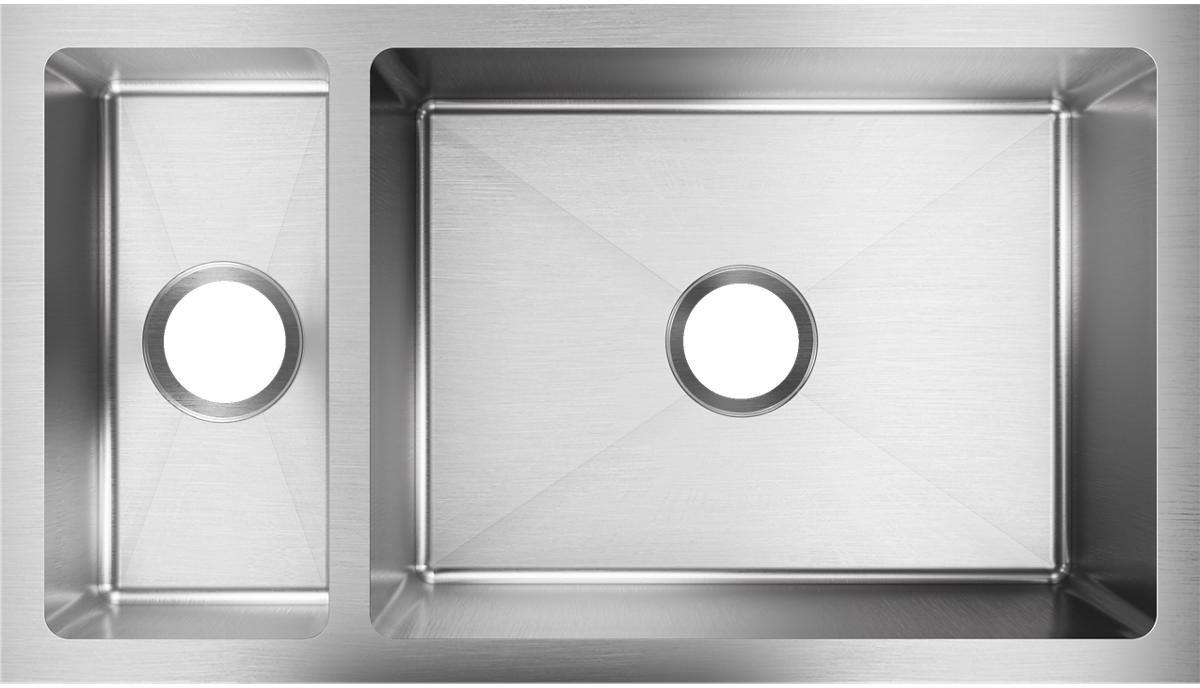 Elkay EFRU321910T 32 Inch 30/70 Double Bowl Undermount Kitchen