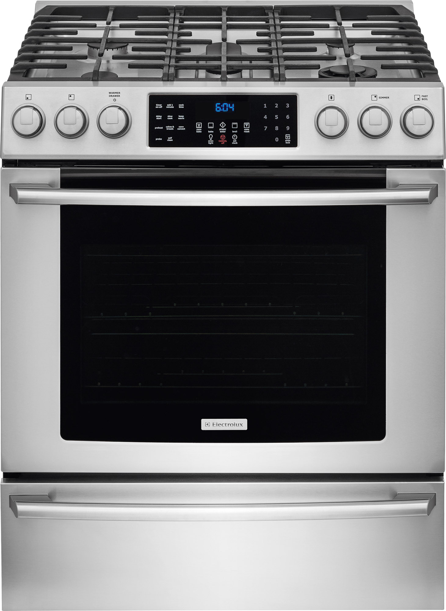 Gas Range With Gas Oven Electrolux Gas Ranges Electrolux Electric Ranges Electrolux Stoves