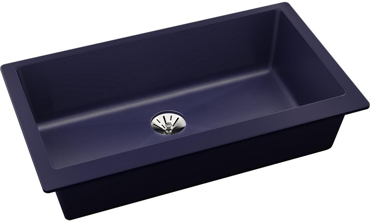 36 Inch Undermount Kitchen Sink.Elkay Quartz Luxe Elxrup3620jb0