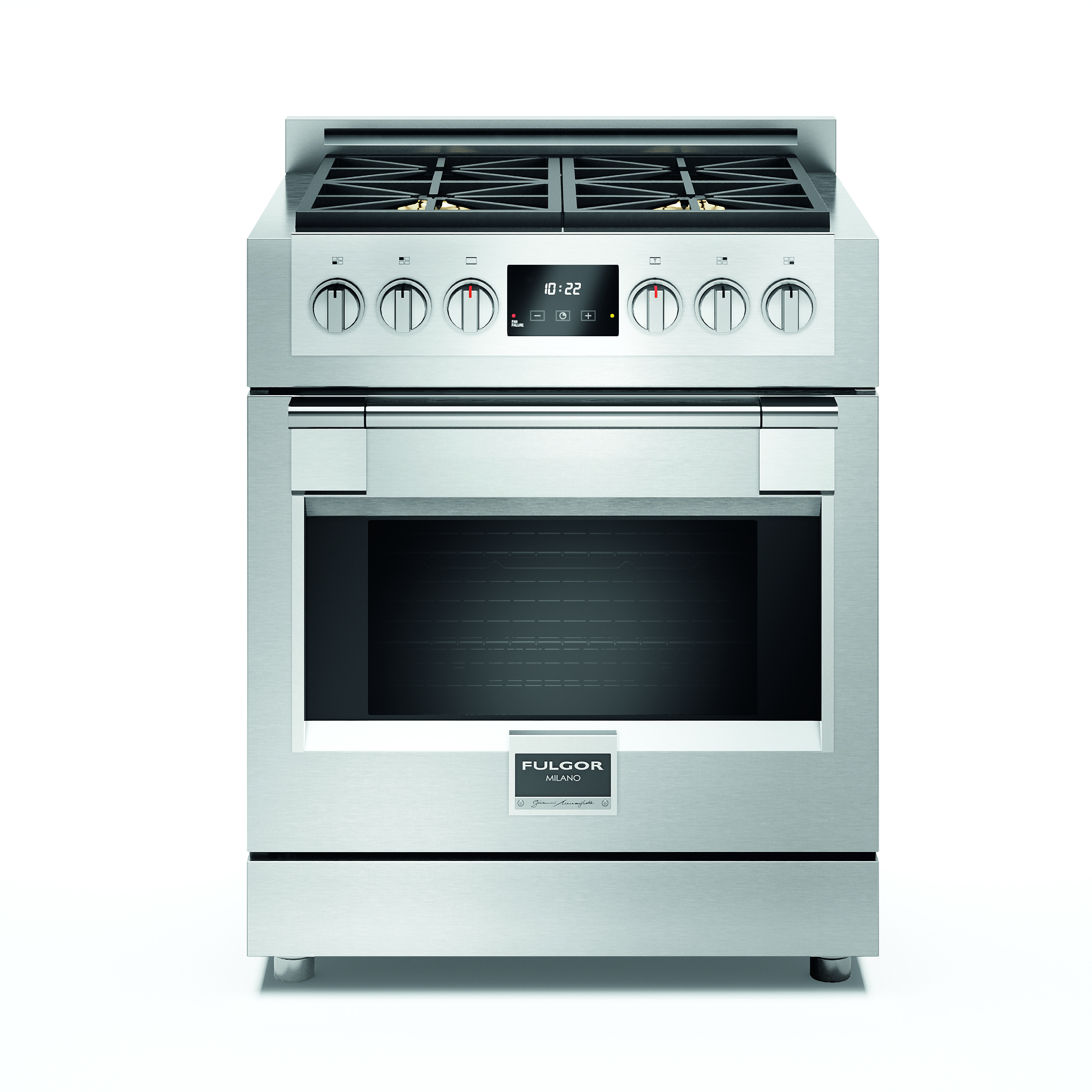 Fulgor Milano F6PGR304S1 30 Inch Freestanding Gas Range with Dual ...
