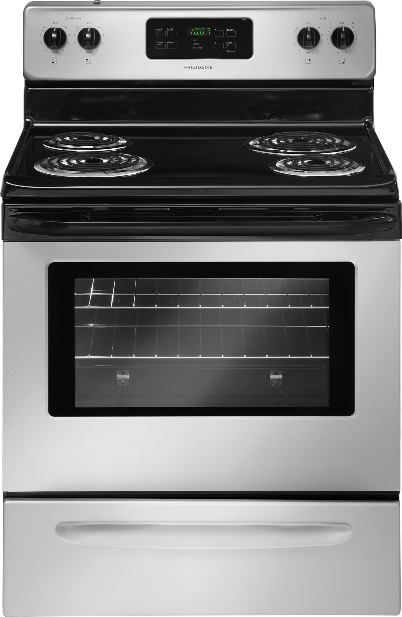 Frigidaire FFEF3015LM 30 Inch Freestanding Electric Range with Auto ...
