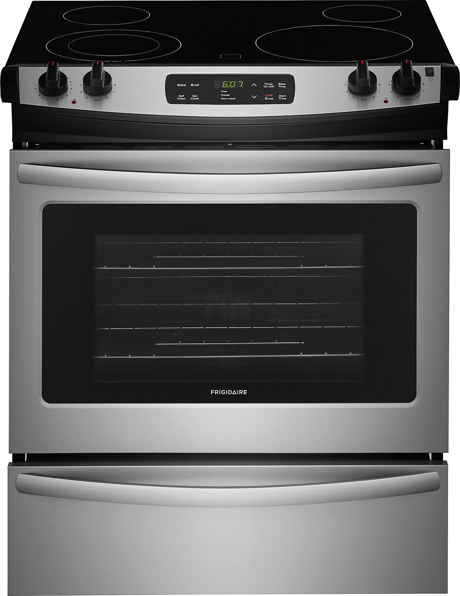 Frigidaire Ffes3026ts 30 Inch Slide In Electric Range With