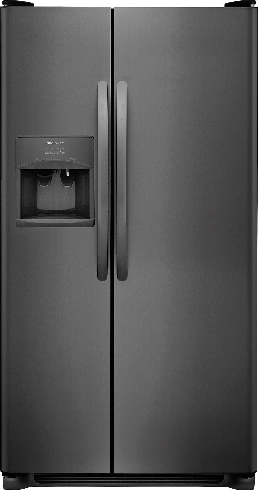 Side By Side Refrigerators: Black, White, Other Fridges by AJ Madison