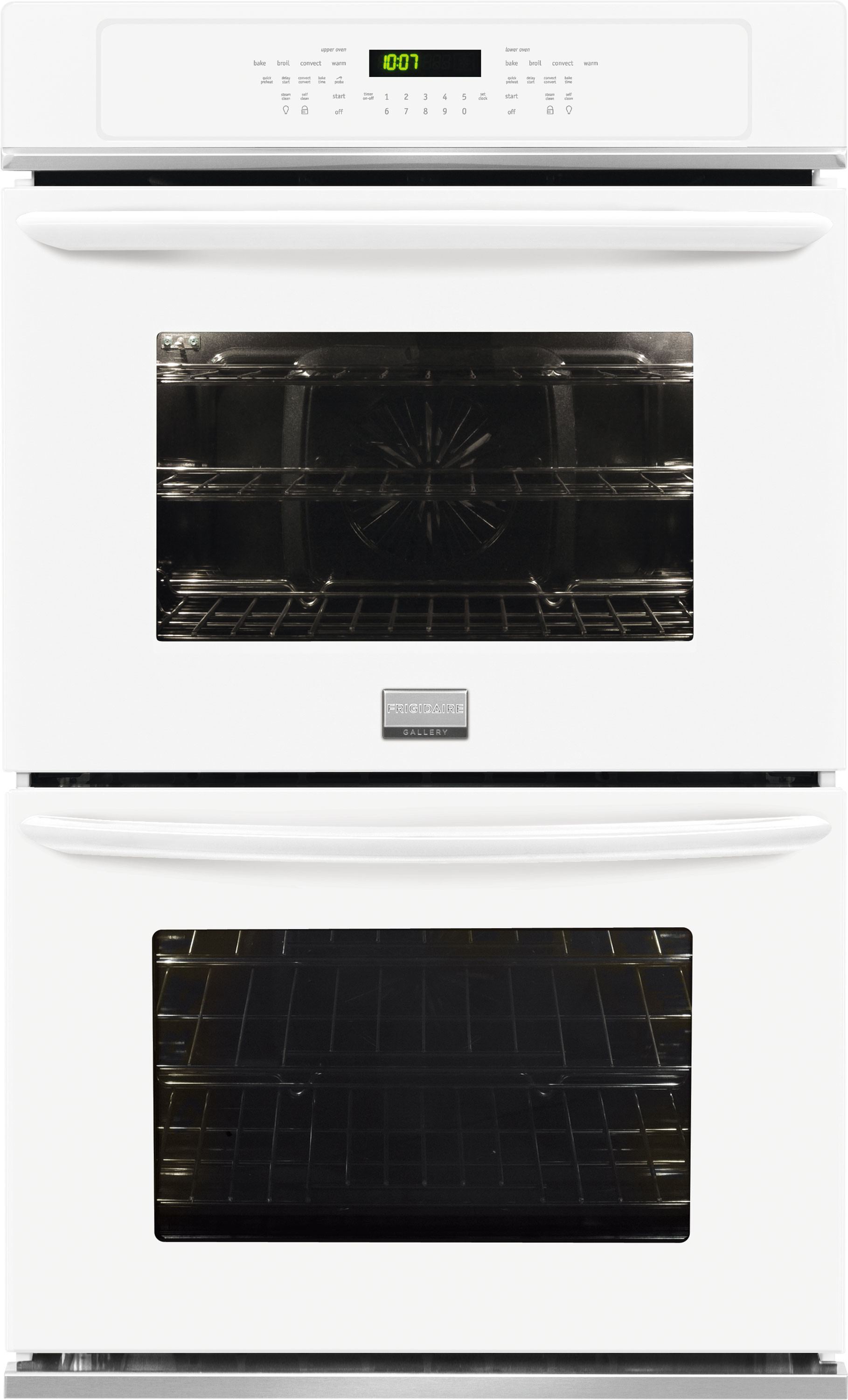 Frigidaire Fget2765pw 27 Inch Double Electric Wall Oven With 3 8