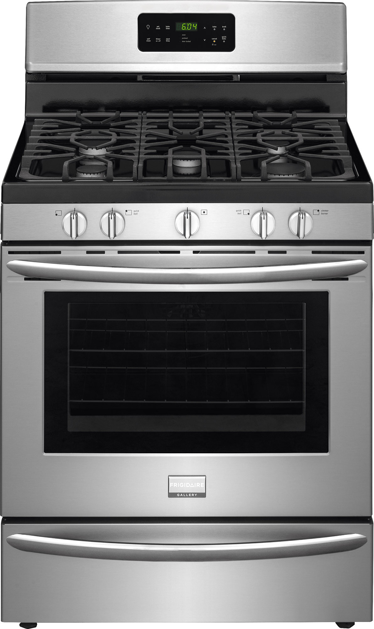 Frigidaire FGGF3035RF 30 Inch Freestanding Gas Range with Quick Bake  Convection, Express-Select Controls, Smudge-Proof™ Stainless Steel, ...