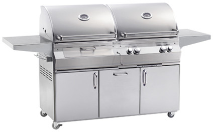 Best natural gas grills with charcol option