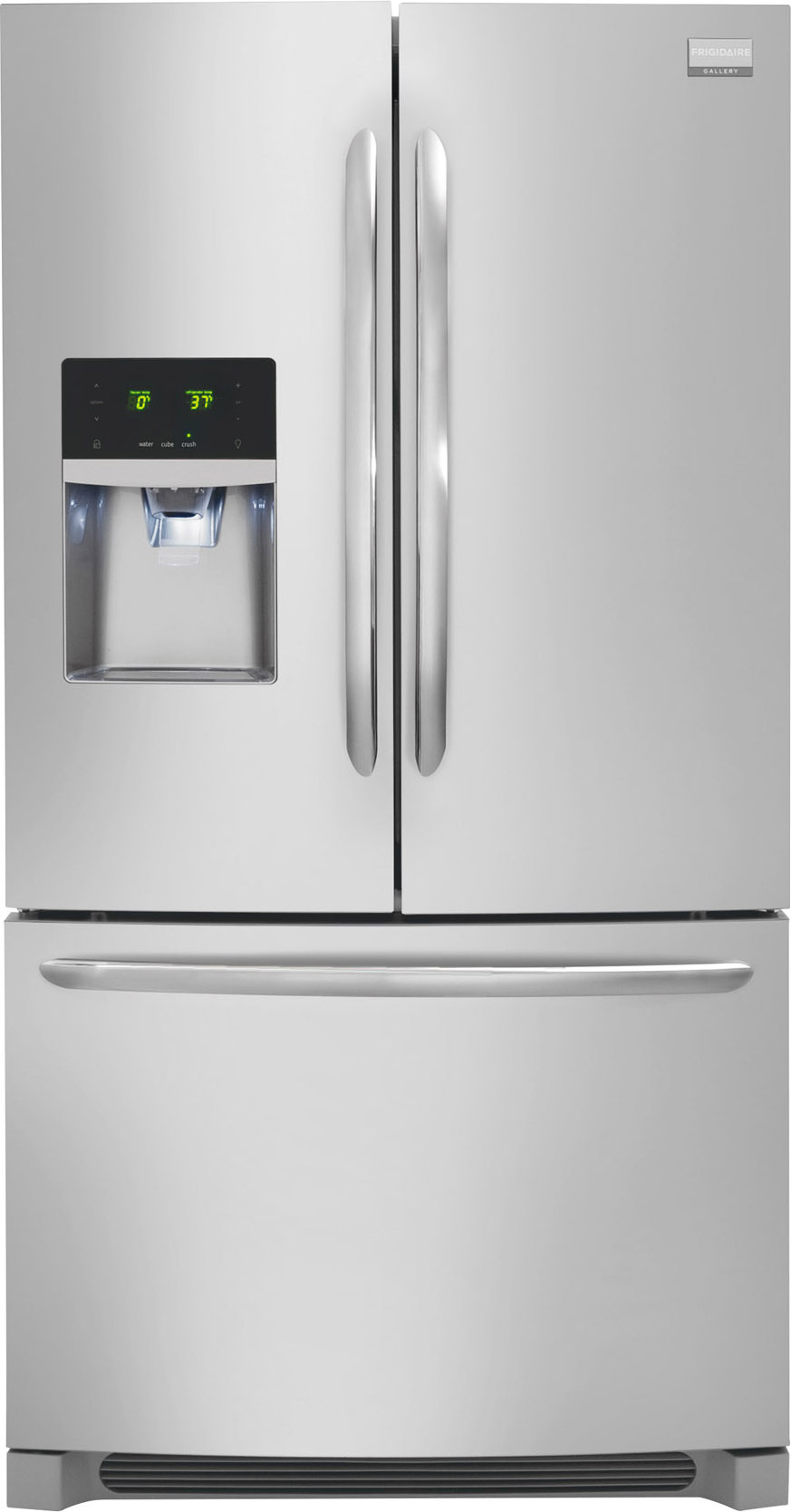 Frigidaire FGHB2866PF 36 Inch French Door Refrigerator with Cool Zone  Drawer, Quick Freeze, Energy Star, 27.8 cu. ft Capacity, Adjustable  SpillSafe Shelves, ...