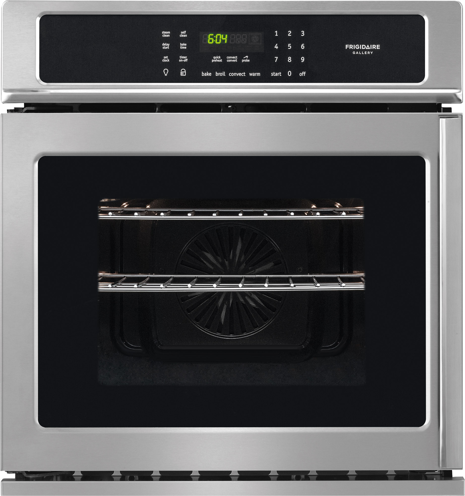 frigidaire fgew276spf 27 inch single electric wall oven with 3 8 cufrigidaire gallery series fgew276spf 27 inch single electric wall oven