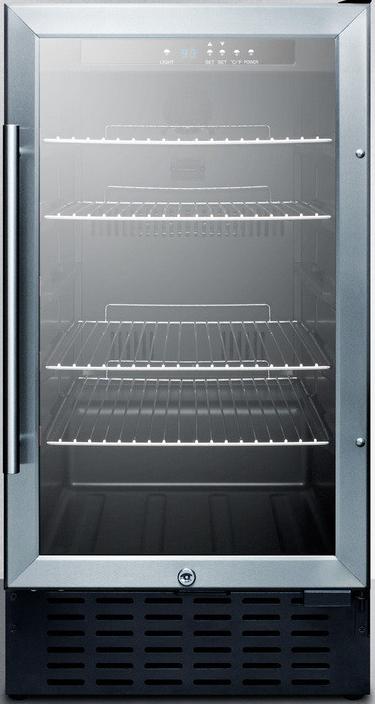 Outstanding Summit Scr1841B 18 Inch Undercounter Beverage Cooler With Door Handles Collection Olytizonderlifede
