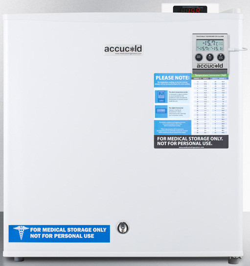 Accucold 1.4 Cu. Ft. Compact Upright Freezer Fs24lvac