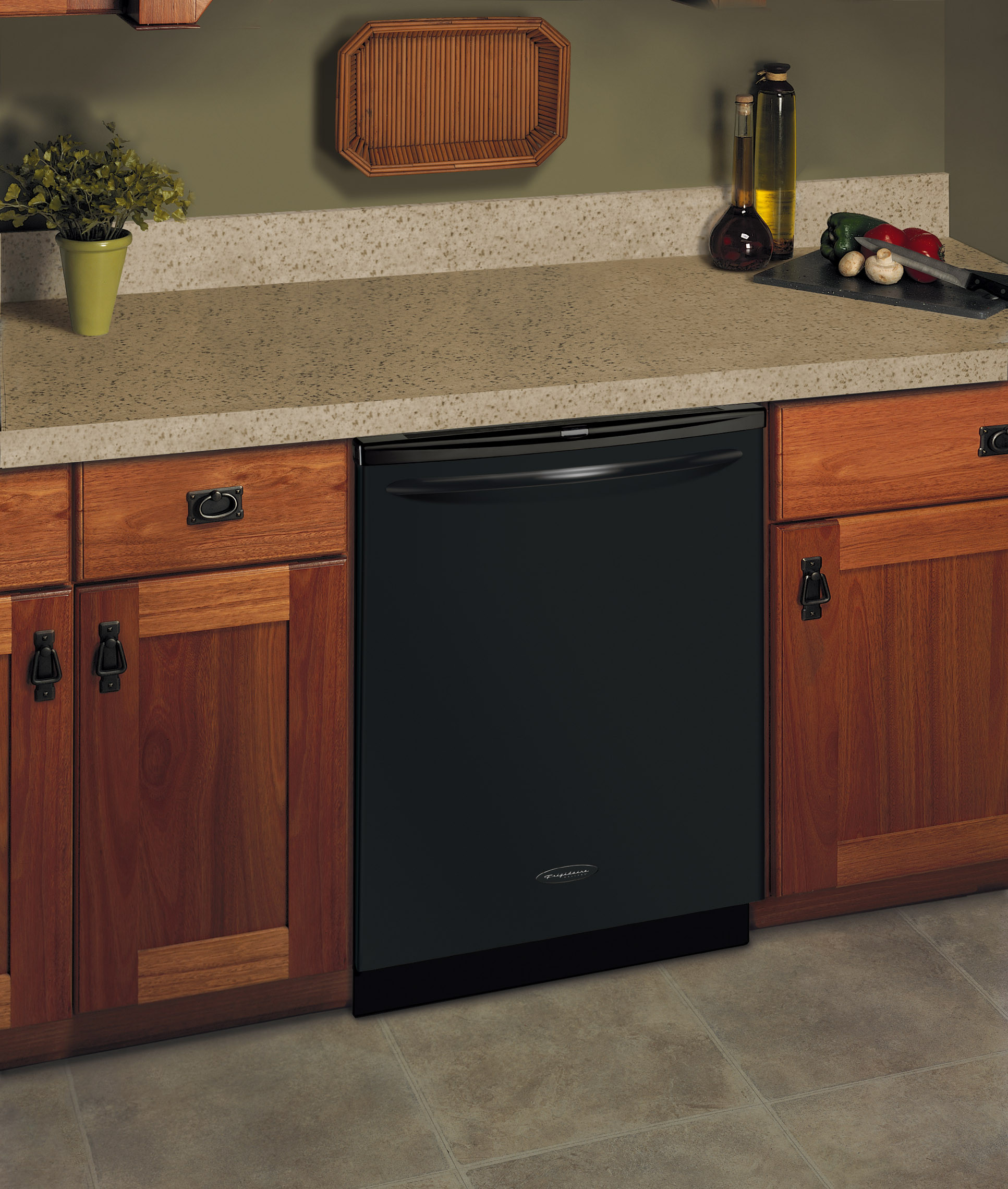 Frigidaire Gld4355rfb Fully Integrated Dishwasher With 6