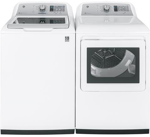 Ge Gewadrew15 Side By Washer Dryer Set